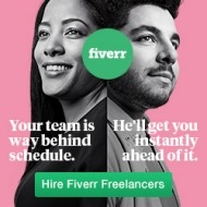 Get service at Fiverr. Graphic Design and Website Layout